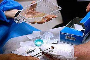 درمان زخم های عفونی توسط لارو مگس