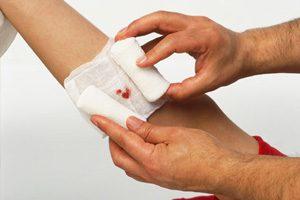 مراحل مراقبت از زخم
