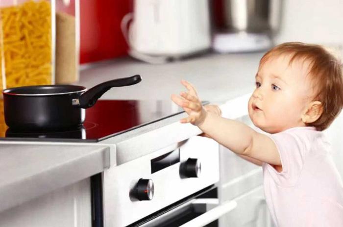 سوختگی در کودکان